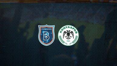 Başakşehir - Konyaspor maçı ne zaman, saat kaçta ve hangi kanalda canlı yayınlanacak?   Süper Lig