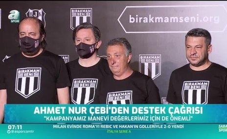 Ahmet Nur Çebi'den destek çağrısı