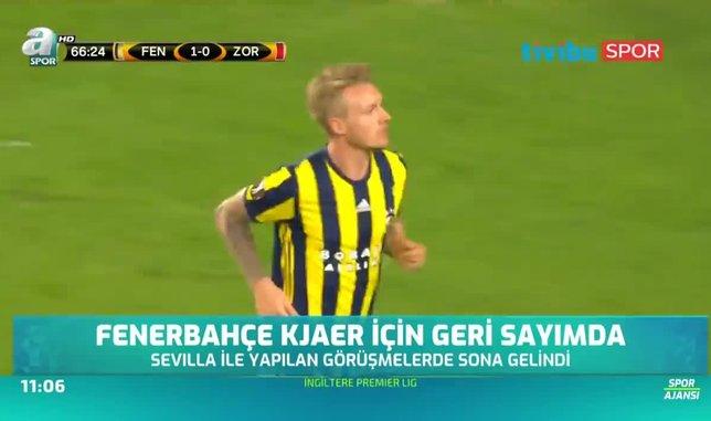 Fenerbahçe Kjaer için geri sayıma geçti
