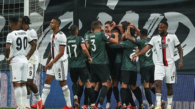 Beşiktaş Sporting maçında kopyala yapıştır goller!