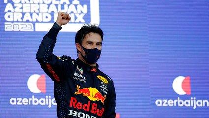 Formula 1'de Azerbaycan yarışında zafer Sergio Perez'in!