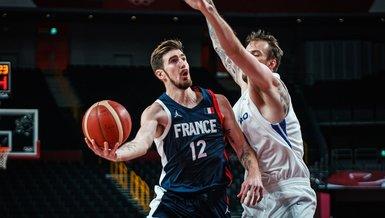 2020 Tokyo Olimpiyat Oyunları'nda Fransa çeyrek finale yükselen ilk takım oldu   Fransa 97-77 Çekya