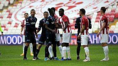 Sivasspor - Trabzonspor: 0-0 (MAÇ SONUCU - ÖZET)