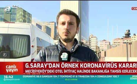 Galatasaray'dan alkışlanacak hareket! Sağlık Bakanlığı'na corona virüsü hastanesi