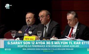 G.Saray son 1 yılda 30.5 milyon TL kar etti