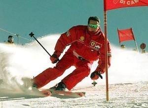 Schumi'nin kayak tutkusu