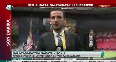 Galatasaray'da sakatlarda son durum