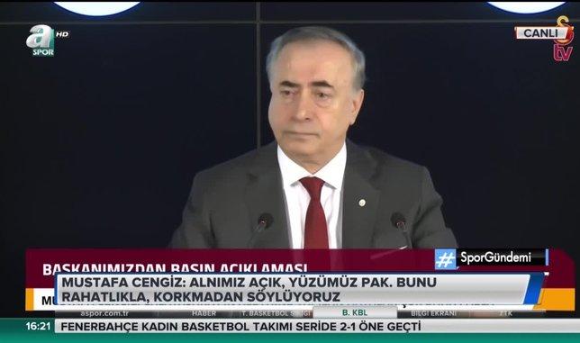 Mustafa Cengiz: Rizespor Başkanı taraftarlarını kışkırttı