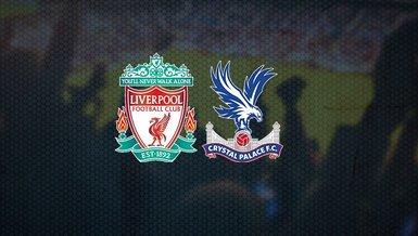 Liverpool Crystal Palace maçı ne zaman, saat kaçta ve hangi kanalda CANLI yayınlanacak? A Spor...