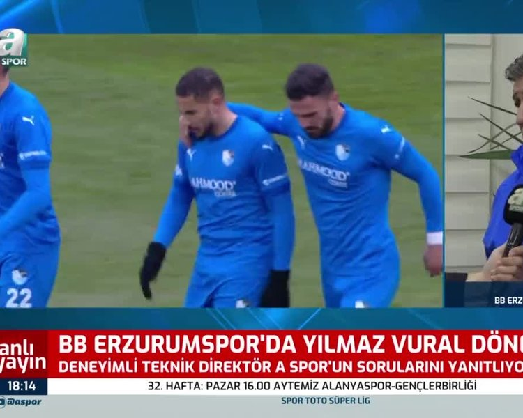 Son dakika spor haberi: BB Erzurumspor'un yeni teknik direktörü Yılmaz Vural A Spor'a özel açıklamalarda bulundu! #