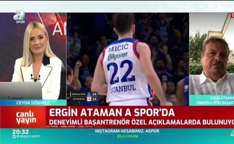 """Ergin Ataman'dan Arda Turan açıklaması! """"Bir ortaklığımız yok"""""""