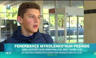 Fenerbahçe Mykolenko'nun peşinde