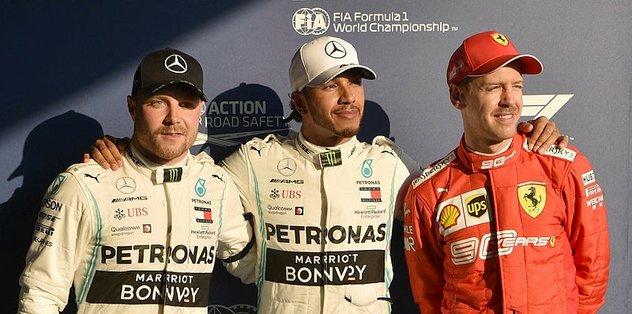 Formula 1'in ilk yarışında pole pozisyonu Hamilton'ın