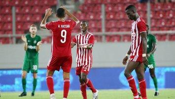 Olympiakos - Ludogorets maçında kazanan yok