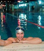 Otizimli milli yüzücünün hedefi Tokyo 2020
