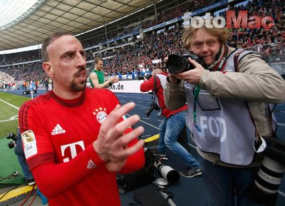 Galatasaray'ın ilgilendiği Ribery'e dev talip!