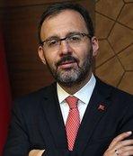 Bakan Kasapoğlu'ndan Eda Tuğsuz'a tebrik