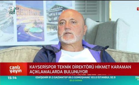 Hikmet Karaman'dan Deniz Türüç açıklaması! Galatasaray...