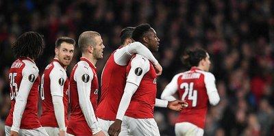 Arsenal çeyrek finalde