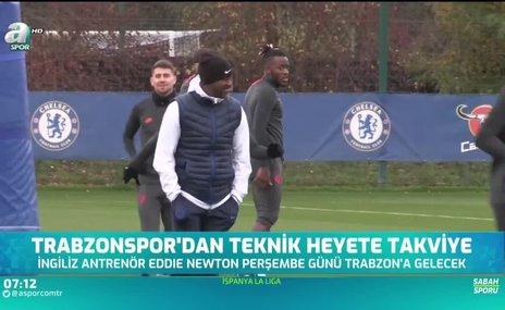 Trabzonspor'dan teknik heyete takviye