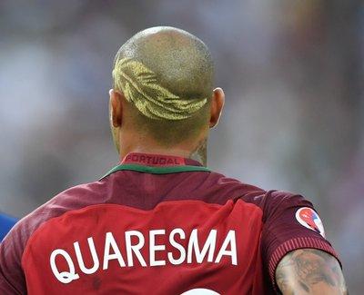 Quaresma saç stilini değiştirdi! İşte yeni hali