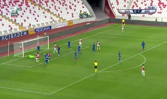 GOL | Sivasspor 1-1 Erzurumspor (71' Kone)