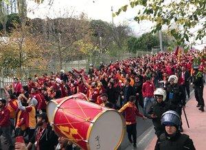 Galatasaray taraftarı Vodafone Parkta!