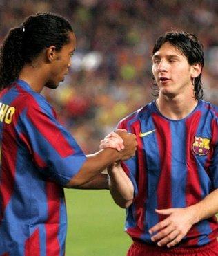 Barcelona'nın efsanesi Ronaldinho: Messi tarihin en iyisi diyemem