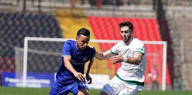 Tuzlaspor - Bursaspor: 0-0   MAÇ SONUCU ÖZET - Son dakika TFF 1.Lig haberleri - Fotomaç