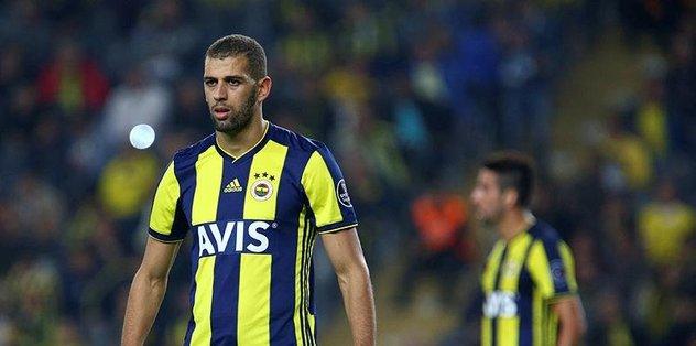 Fenerbahçe'den ayrılan Slimani'ye bak sen!