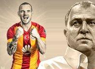 Son dakika Galatasaray haberleri: Ve Sneijder bombası patladı! Galatasaray'a geri dönüyor...