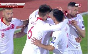 Arnavutluk 0-2 Türkiye (Maç özeti)