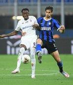 Inter Fiorentina'ya takıldı!