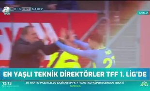 En yaşlı teknik direktör TFF 1.Lig'de