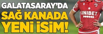 Galatasaray'da sağ kanada yeni isim!