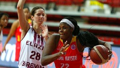 Elazığ İl Özel İdarespor - Kayseri Basketbol: 88-86   Kadınlar EuroCup