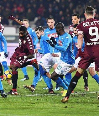 Serie A'da yeni lider Napoli
