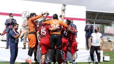 Ampute Futbol Türkiye Kupası şampiyonu Etimesgut Belediye Spor!