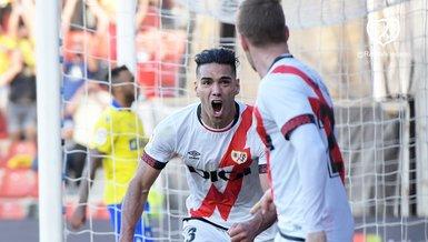 Falcao attı Vallecano kazandı | Rayo Vallecano Cadiz: 3-1 | MAÇ ÖZETİ