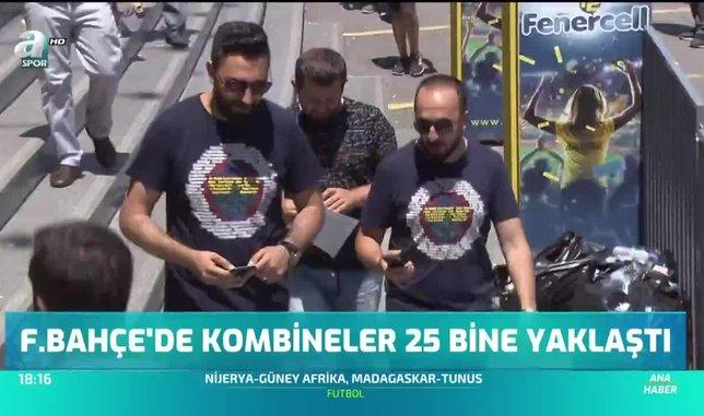 Fenerbahçe'de kombineler 25 bine yaklaştı