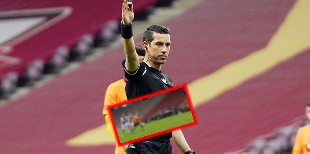Galatasaray - Karagümrük maçında penaltı VAR'dan döndü! İşte o anlar...