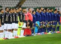 İttifak Holding Konyaspor - Fenerbahçe maçından dikkat çeken kareler