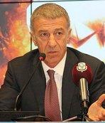 Trabzonspor Başkanı Ağaoğlu'ndan Muharrem Usta'ya...