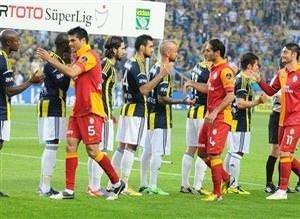 Fenerbahçe-Galatasaray maçının fotoğrafları