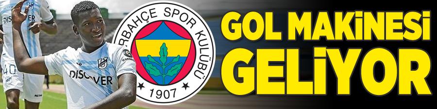 Fenerbahçe'ye gol makinesi