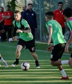 Konyaspor'da Kasımpaşa maçı hazırlıkları başladı