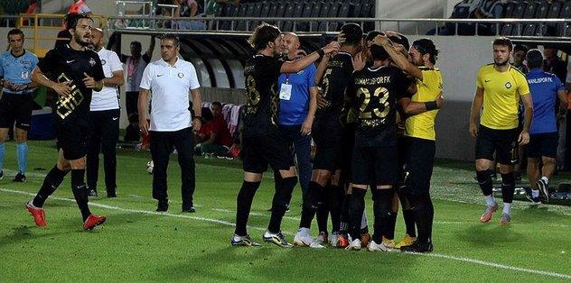 Osmanlıspor, Balıkesirspor Baltok'u 3-0 mağlup etti