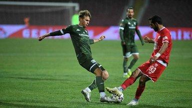 Bursaspor kötü gidişatı durdurmak istiyor