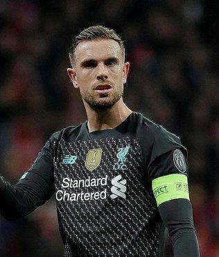 Liverpool'da Henderson sahalardan 3 hafta uzak kalacak