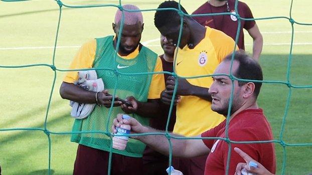 Galatasaray'da Ozornwafor tepkisi: O zaman antrenmana da çıkmasın #